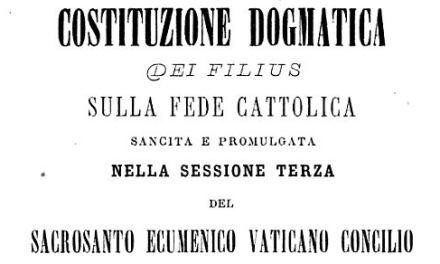Si possono contestare e rifiutare le decretazioni di Magistero ordinario ed universale della Chiesa?