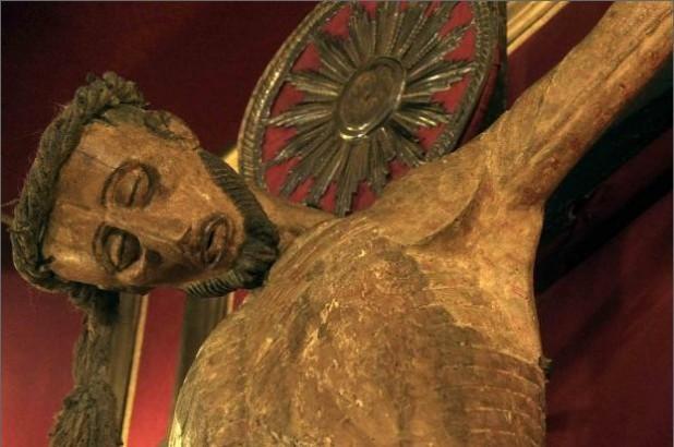 Il Crocifisso miracoloso esposto solo otto giorni all'anno