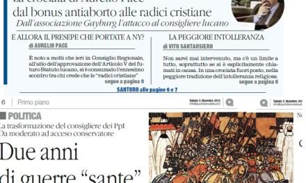 Il Quotidiano del Sud su Radio Spada: ospita 'omofobi' ed antiabortisti che infastidiscono i cattolici