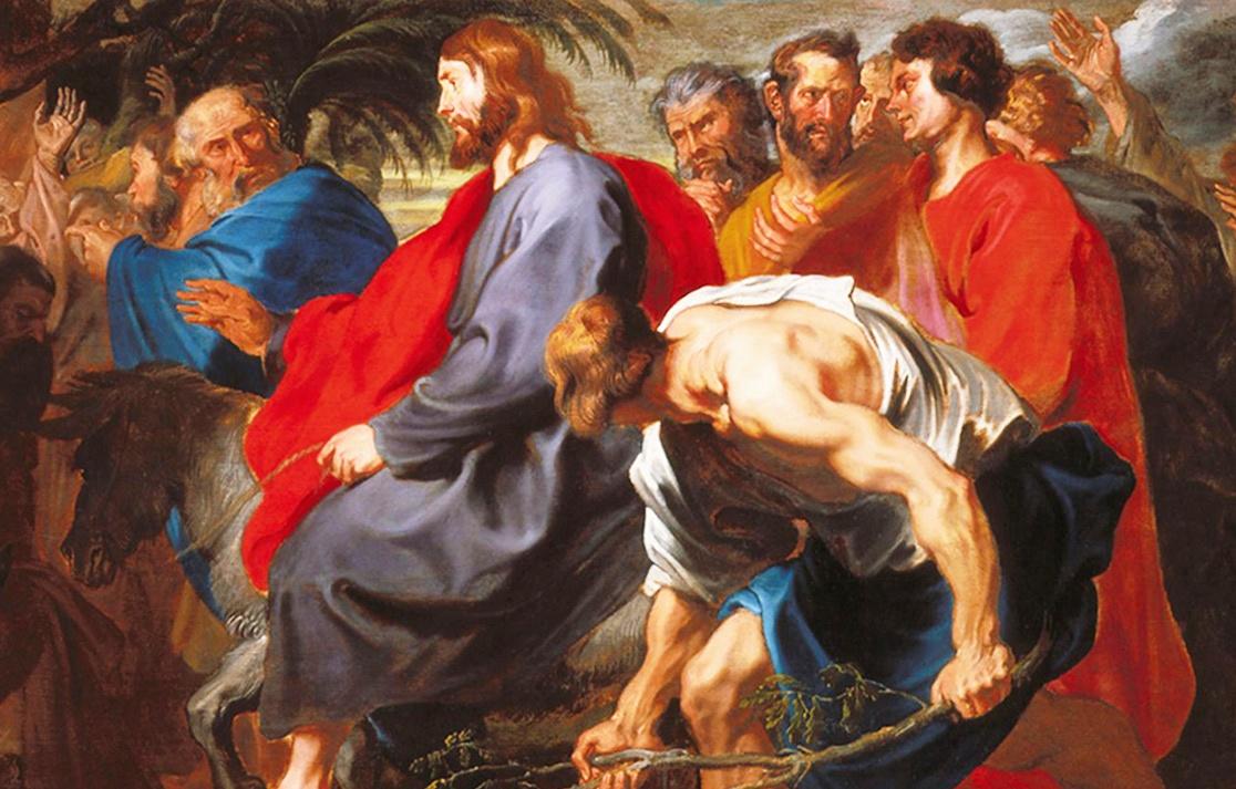 Psalm-118-verse-25ff-Messiah-Jesus-rides-donkey-into-Jerusalem