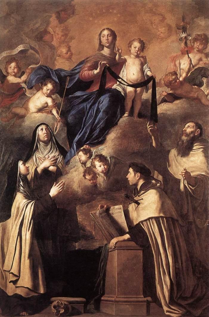 [CHI MORRA', VEDRA'] La comunione dei Santi ed il conforto che le anime purganti hanno dagli Angeli, dai Santi e da Maria SS.