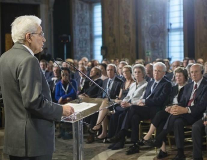 Discorso completo di Mattarella alla Commissione Trilaterale [VIDEO]