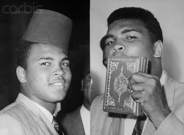 La 'conversione' di Cassius Clay – Muhammad Ali