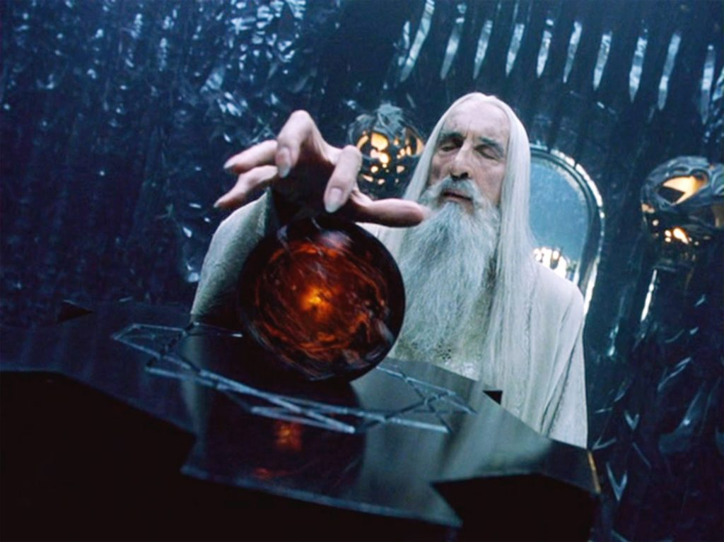 Saruman_with_Orthanc's_Palanti