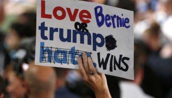 [GALLERIA DI FOTO] I sostenitori di Sanders che, contrariamente al loro capo, si oppongono a Hillary Clinton