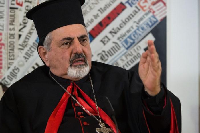 """""""Il Papa sbaglia, stiamo subendo l'odio da parte di una religione"""", dice il Patriarca della Chiesa Cattolica sira"""