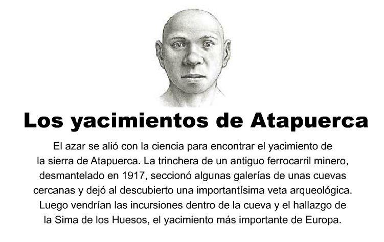 """Il ritrovamento di Atapuerca. 800.000 anni d'età e più """"moderno"""" dei suoi successori: un bel problema per alcuni scientisti ideologizzati."""