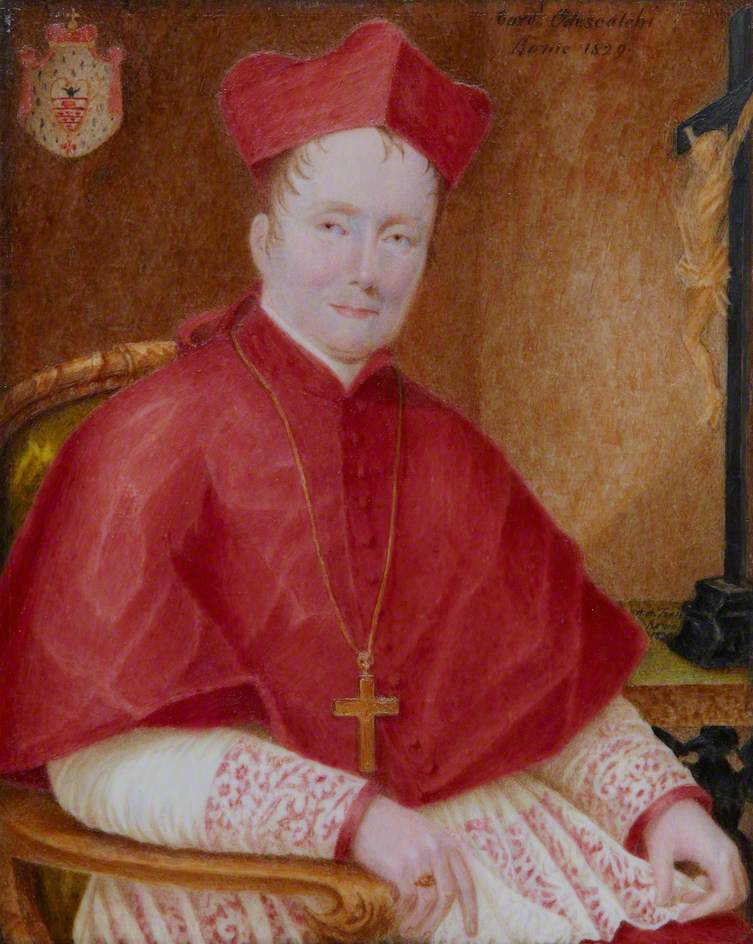 Trail, Agnes Xavier; Cardinal Carlo Odescalchi (1785-1841); Scottish Catholic Archives; http://www.artuk.org/artworks/cardinal-carlo-odescalchi-17851841-186140