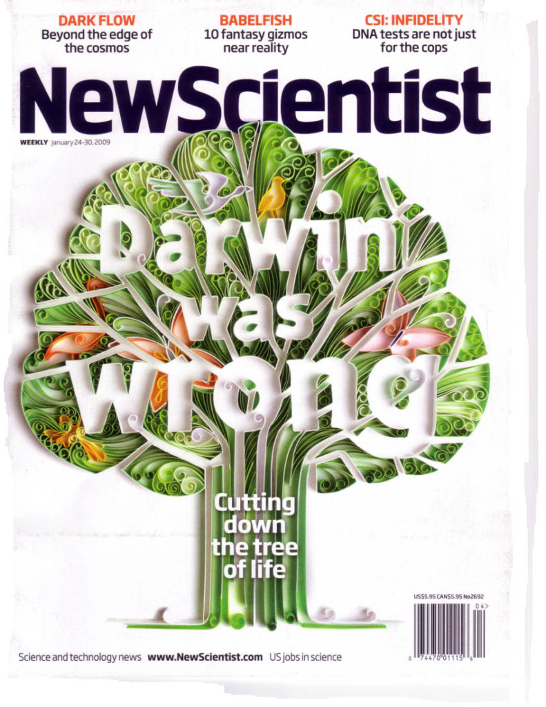"Una celeberrima copertina del ""New Scientisit""."