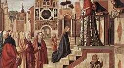 Maria si presenta al Tempio e così pure alle nostre anime