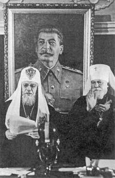 Oletre a queste immagini, non mancano quelle votive orientate alla venerazione di Stalin.