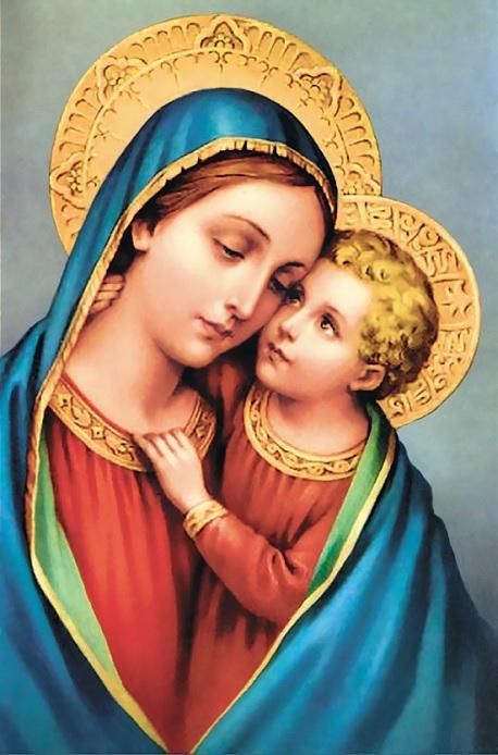 Madonna e Gesù