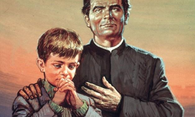 31/1: Una preghiera a San Giovanni Bosco