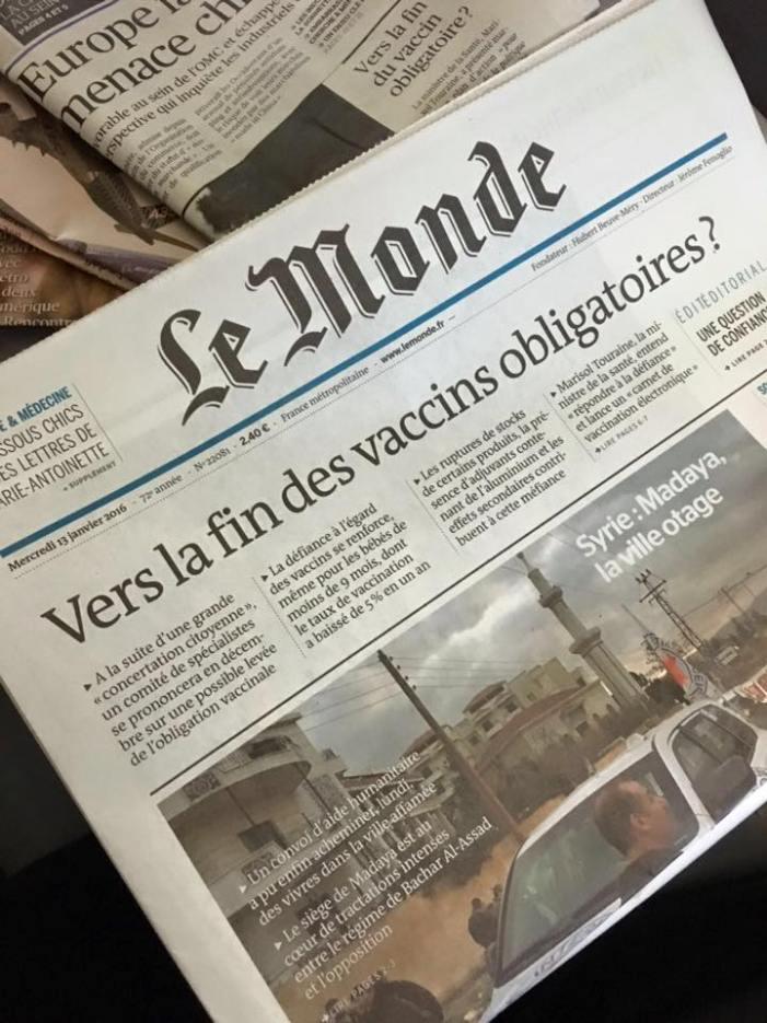 Vaccinazioni di massa: la Francia alza la testa