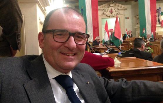 Cesare A. Bellentani, capogruppo di Alleanza Civica