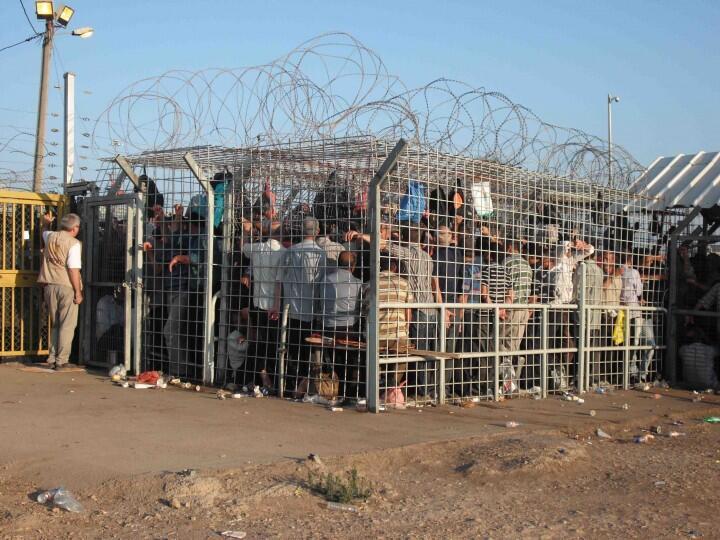 checkpoint gaza