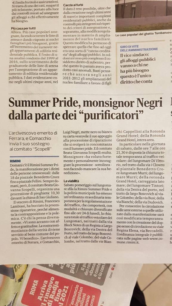 Il Corriere di Rimini - 28 luglio