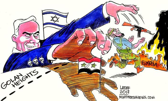 Cadono le maschere: Israele all'attacco in Siria