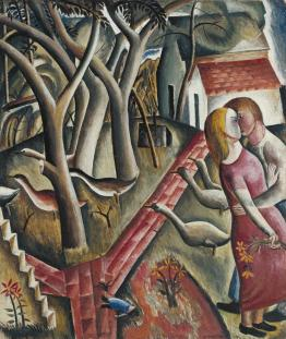 "David Jones, ""The Garden Enclosed"" (1924)"
