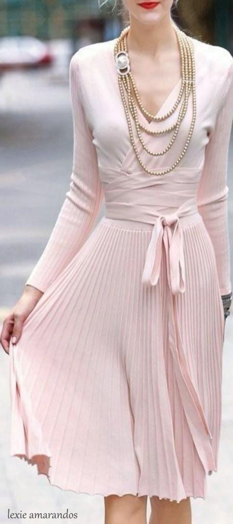 Un vestito che è l'apoteosi della femminilità.