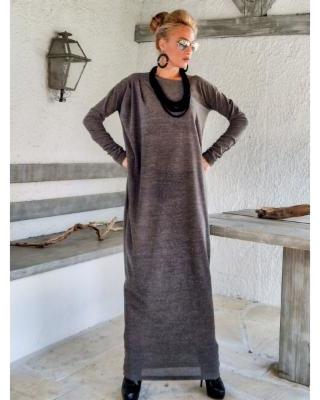 brown-winter-wool-maxi-dress-kaftan-winter-warm-long-dress-plus-size-dress-oversize-loose-dre