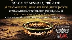 """Il saggio tolkieniano """"La Compagnia della Croce"""" (I. Tacconi) vi aspetta a Roma il 27.1.18"""