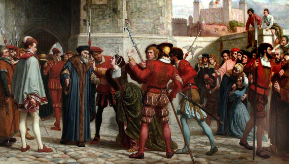 """""""Conducetemi su voi, signor Luogotenente; a venir giù ci penserò io!"""": il martirio di Thomas More"""