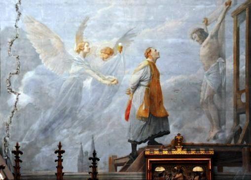 [AI PIEDI DEL TRONO VUOTO] La morte dell'abbè Jean Siegel