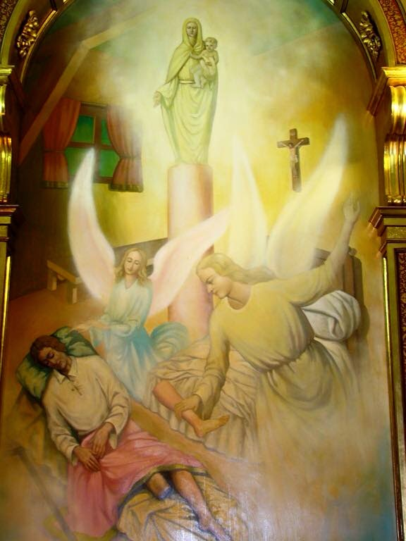 Accadeva oggi: quando la Vergine del Pilar restituì la gamba al mutilato