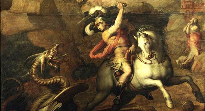 Saint-George-Slaying-the-Dragon-1551-Giorgio-Vasari
