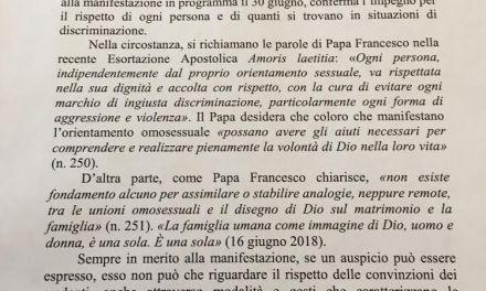 Diocesi e Governo partnership del Pompei Pride