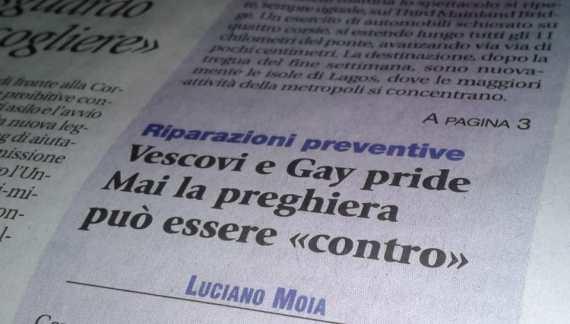 """Il Comitato """"Beata Giovanna Scopelli"""" scrive ad """"Avvenire"""""""