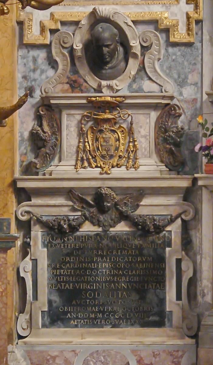 [GLORIE DEL CARDINALATO] S.E.R. Cardinale Juan de Torquemada OP (1388-1468)