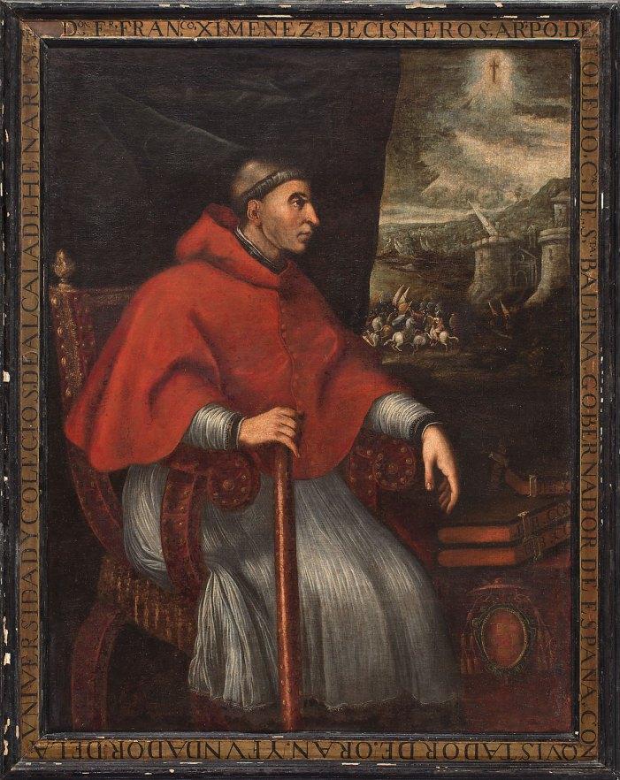 [GLORIE DEL CARDINALATO] S.E.R. Cardinale Francisco Jimenez de Cisneros OFM Obs (1436-1517)