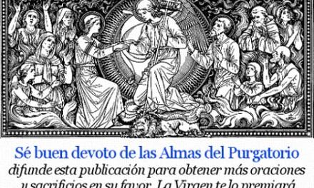 [DIFUNDE TU FE CATOLICA] Novena en sufragio de las Benditas Almas del Purgatorio. Día 7