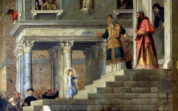 [DIFUNDE TU FE CATOLICA] LA PRESENTACIÓN DE NUESTRA SEÑORA, la Virgen Niña en el Templo