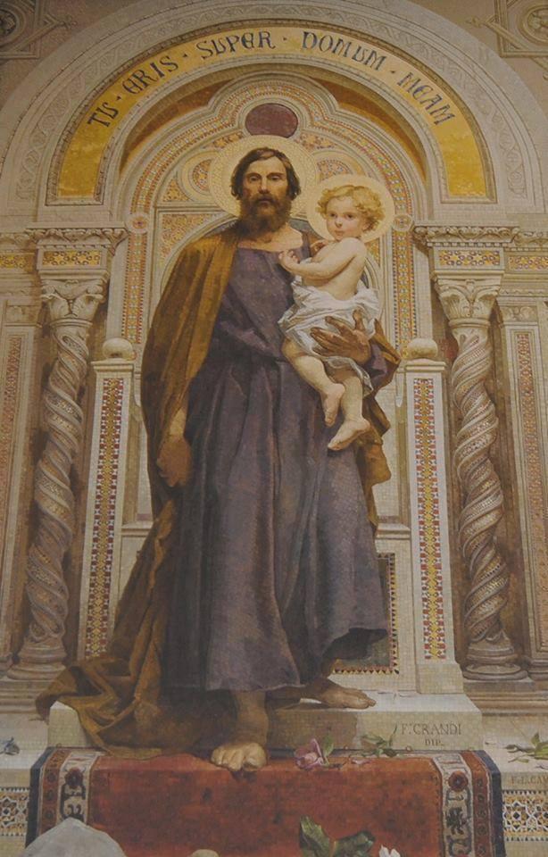 Santi si nasce: San Giuseppe santificato nel seno materno e confermato in grazia