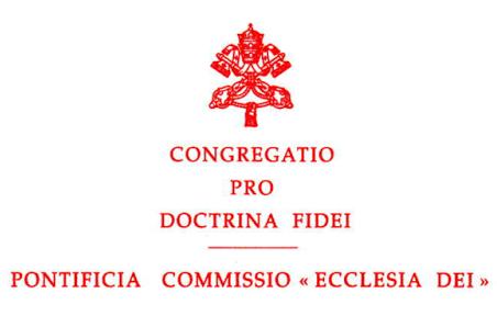 Ecclesia Dei, titoli di coda?