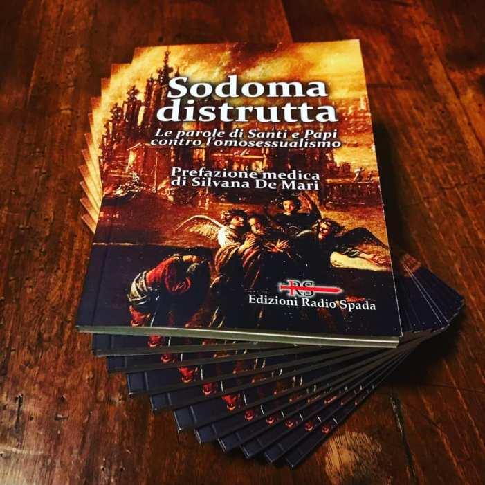 Il Comitato 20 maggio invia a Mons. Camisasca il libro 'Sodoma distrutta': 'sarà utile per seminari e clero'