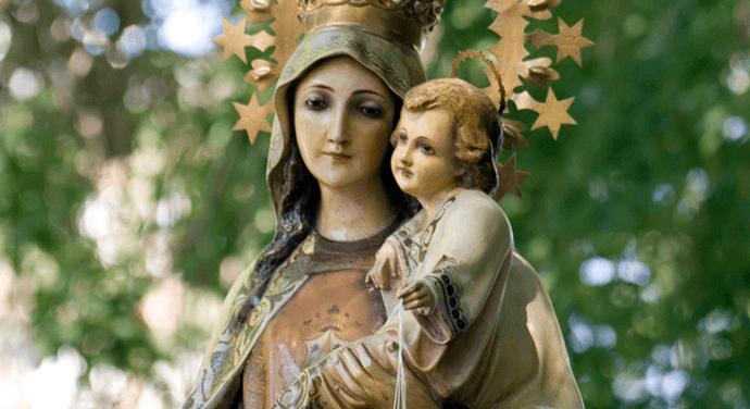 [DIFUNDE TU FE CATOLICA]  LA TRADICIONAL SABATINA a Nuestra Señora la Virgen del Carmen