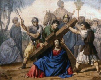 "[DIFUNDE TU FE CATOLICA]  SANTO VIACRUCIS, Octava Estación: ""JESÚS CAE POR TERCERA VEZ"""