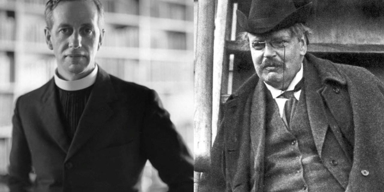 Mons. Ronald Knox e la conversione di G. K. Chesterton: quando l'allievo diventa il maestro