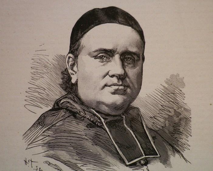 Il Cardinale Pie a colloquio con Napoleone III