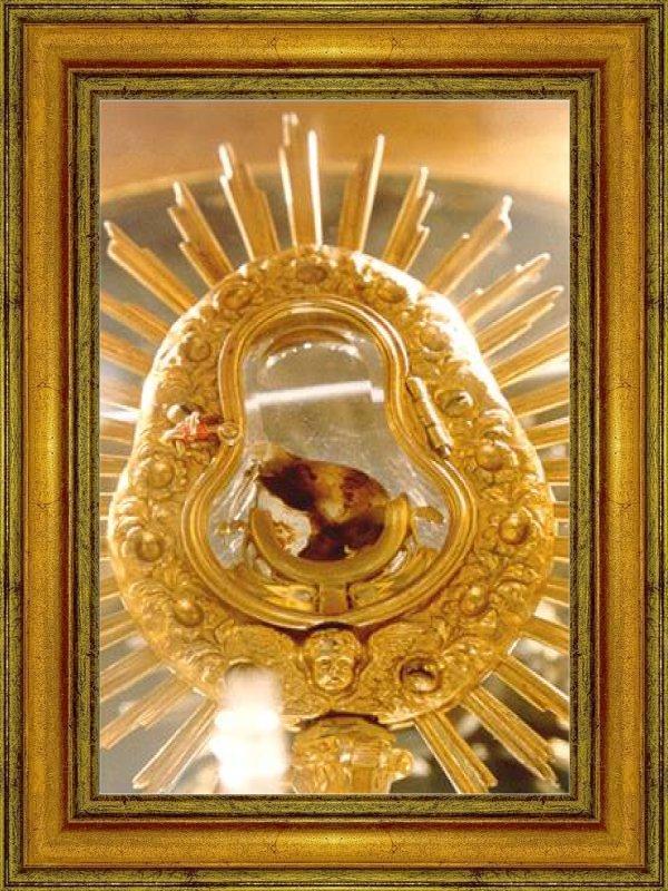 Il miracolo eucaristico di Santarem