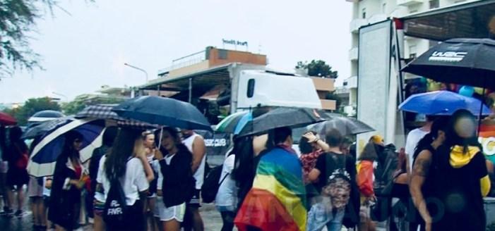 Anche il Summer Pride di Rimini colpito dal maltempo