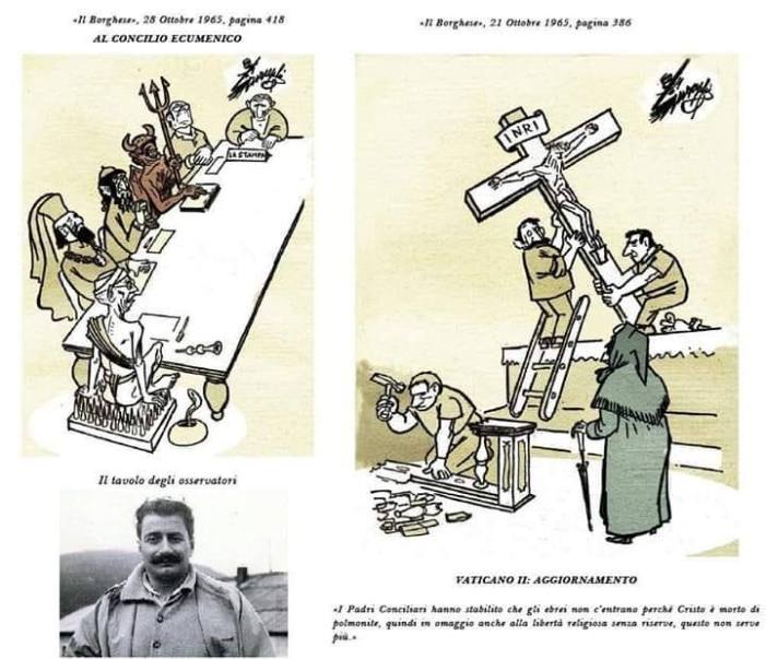 """Guareschi a don Camillo: """"Lei ha il sacro terrore d'una divisione fra i cattolici.  Ma esiste già!"""""""