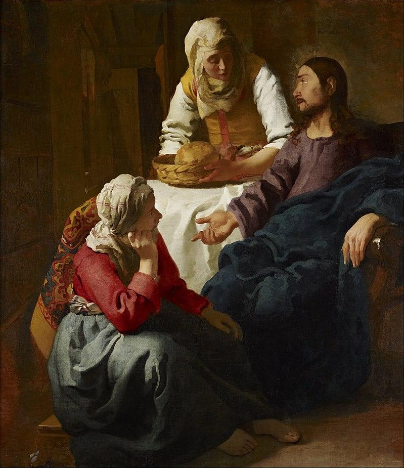 Santa Marta, principessa d'ospitalità, serva del Signore
