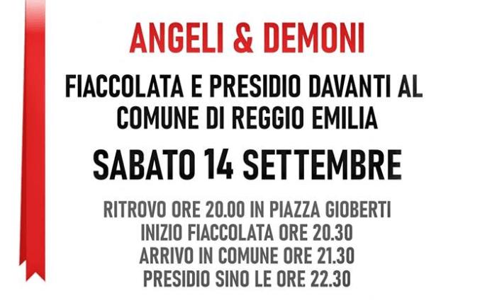 Domani tutti a Reggio per fiaccolata e consacrazione!