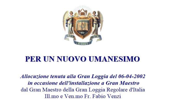 """P. Livio Fanzaga condanna il """"nuovo umanesimo"""", dopo pochi giorni l'espressione viene usata da Francesco"""