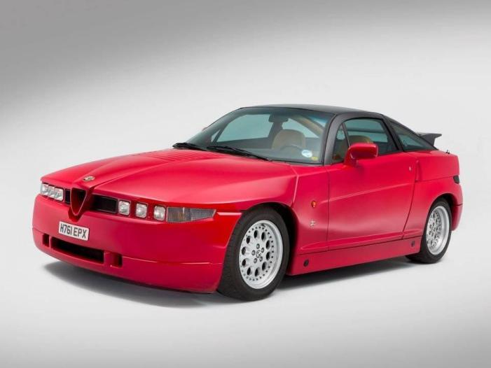 [SPADAMOTORS] L'Alfa Romeo SZ (ES30)